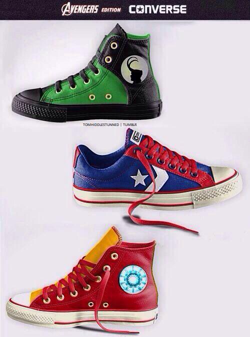 05bb920d32 Marvel shoes converse I want them