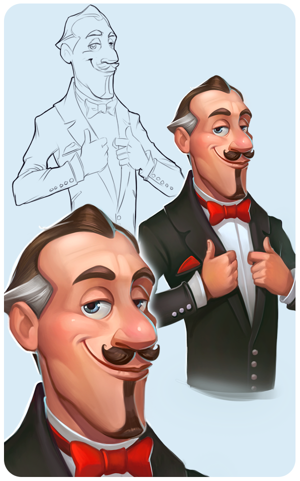 Some more characters and objects for Township Freemium on Behance ★ Find more at http://www.pinterest.com/competing/