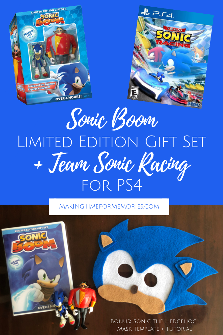 Does Sonic The Hedgehog Live On In Your Childhood Memories Bring Him Out With This Sonic Boom Limited Edition Gift Set Sonic Boom Limited Edition Gift Sonic