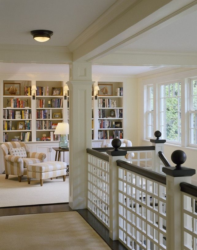 Interior Design Library Room: Library On Upstairs Landing