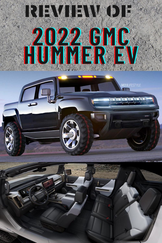 2022 Gmc Hummer Ev Hummer Gmc Monster Trucks