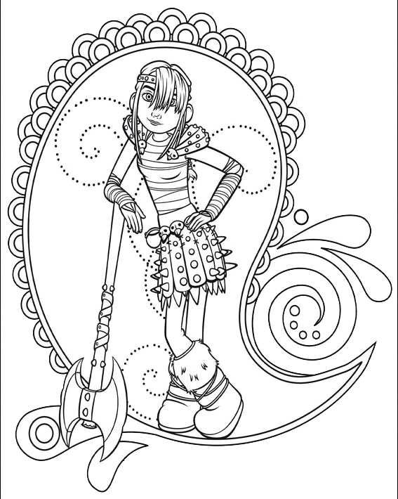 Old Fashioned Coloring Pages Of How To Train Your Dragon Composition