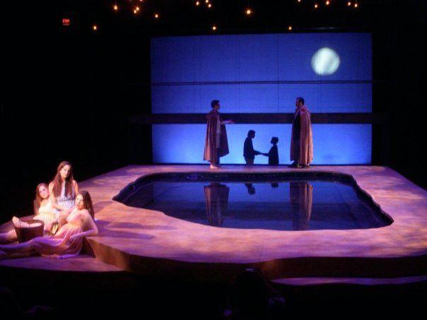 Stagedesign for MOMO/ a ballet for Staatsballett Karlsruhe ...