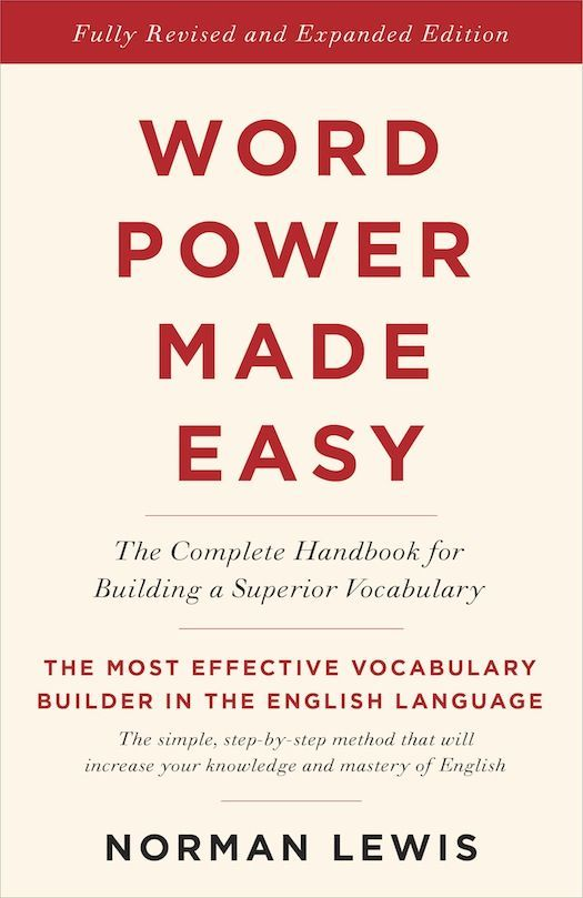 Amazon Com Word Power Made Easy The Complete Handbook For