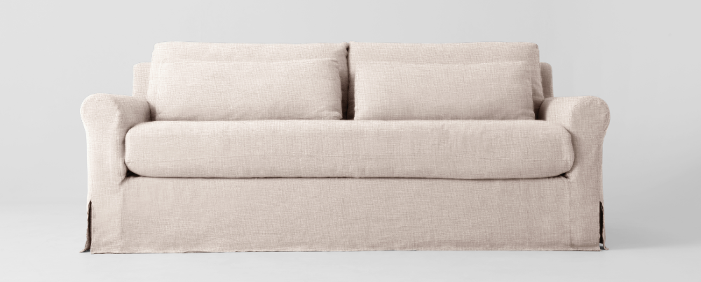 Sofa Slipcover Washed Cotton Linen