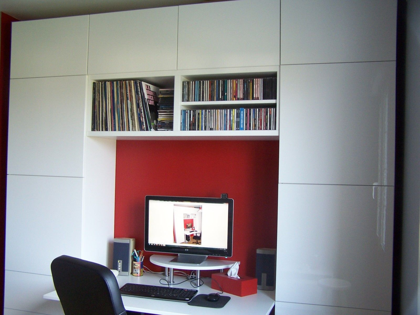 Album 11 gamme besta ikea bureaux biblioth ques r alisations clients r alisations - Meuble bibliotheque ikea ...