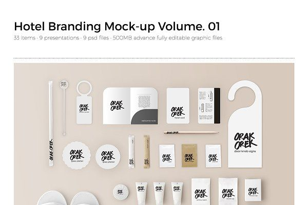 Hotel Amenity Branding Vol 1 Hotel Branding Stationery Branding Branding