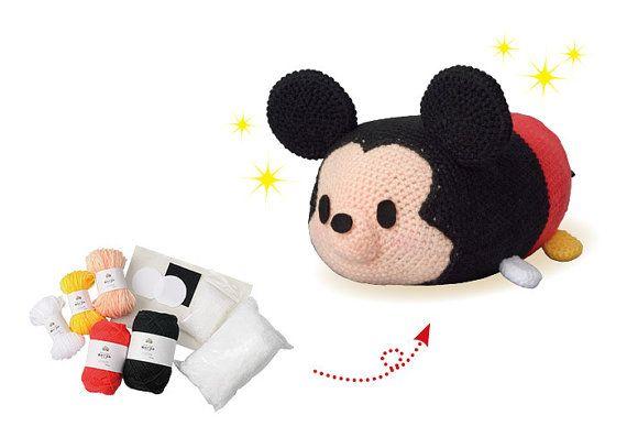 Amigurumis Personajes De Disney : Disney tsum tsum amigurumi speciall set tsum tsum crochet set