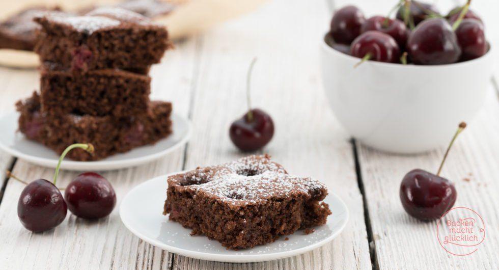 Saftiger Schoko Kirsch Kuchen Rezept Saftiger Schoko Kirsch Kuchen Schoko Kirsch Kuchen Kuchen Ohne Backen