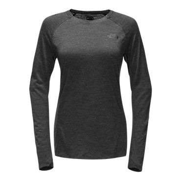 f4e1967f6 The North Face Women's Wool Baselayer Long Sleeve Crew Neck TNF Dark ...