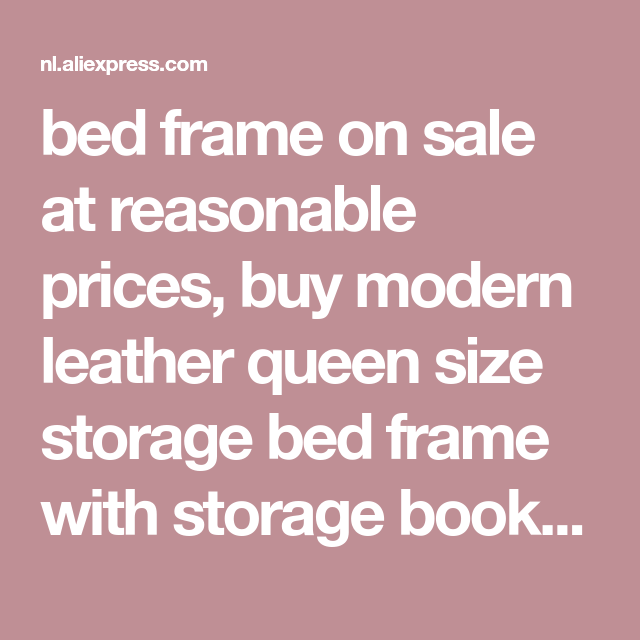 Best Bed Frame On Sale At Reasonable Prices Buy Modern Leather 400 x 300