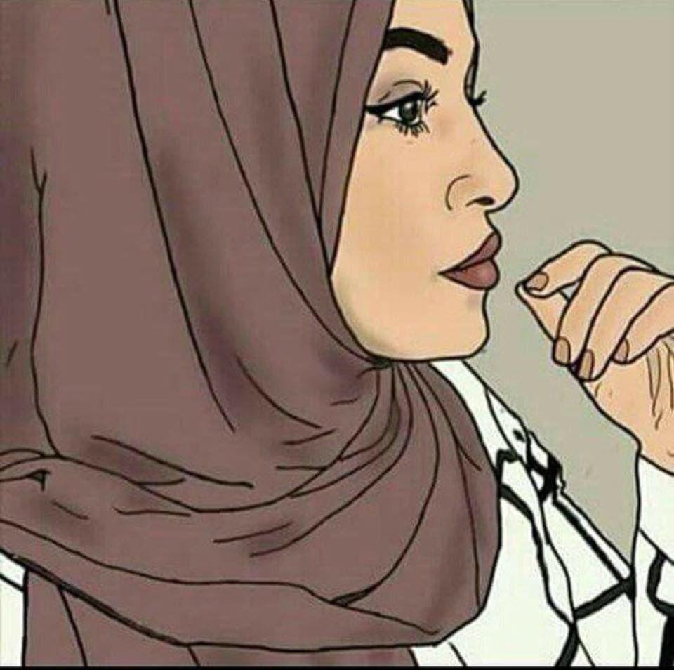 Cute Girl Drawing, Woman Drawing, Muslim Pictures, Crown Illustration,  Sarra Art,