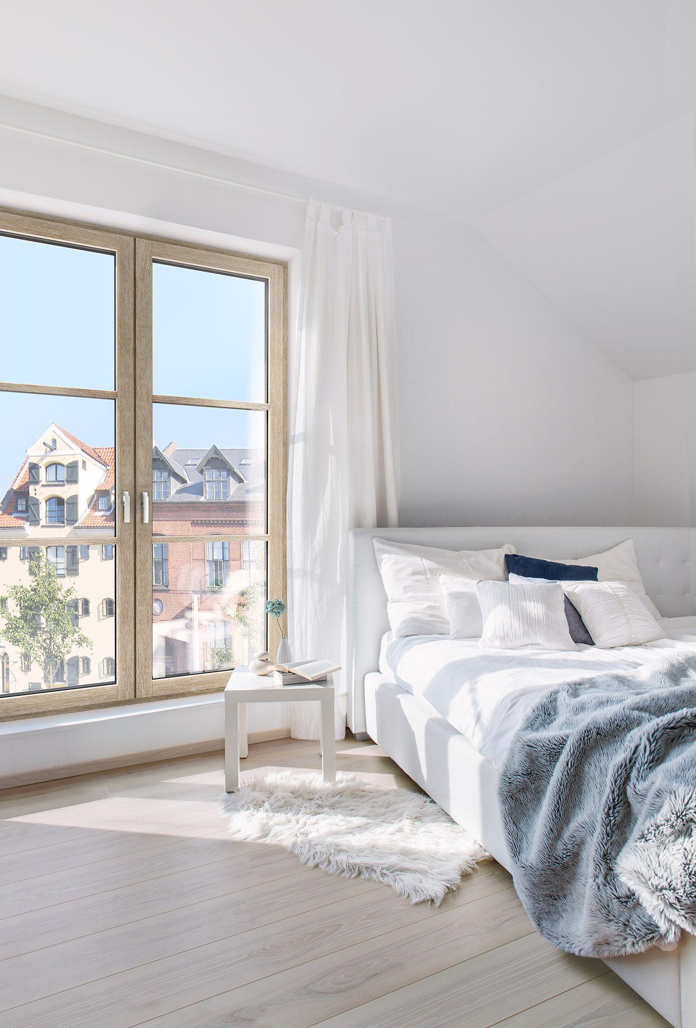 Holz-/Aluminium Fenster HF 410. Beispiel \