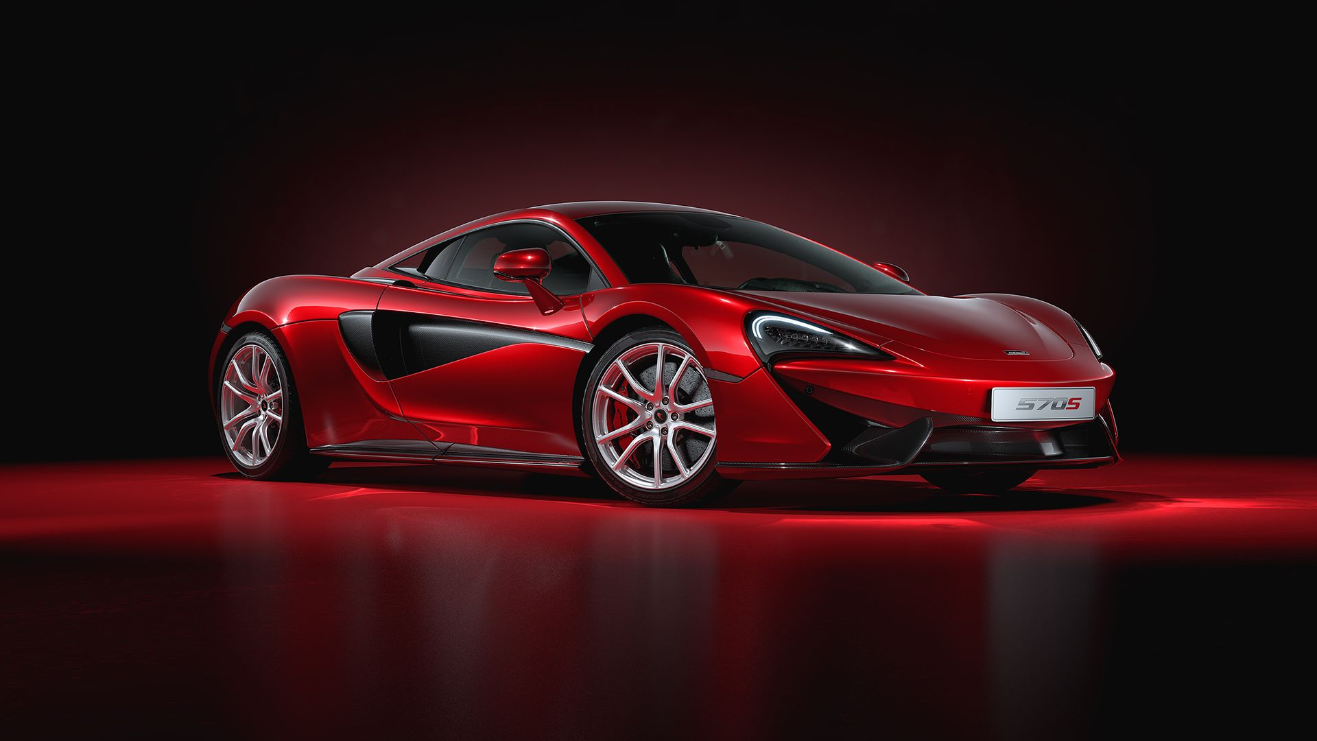 """Check out this @Behance project: """"McLaren 570S - Full CGI ..."""