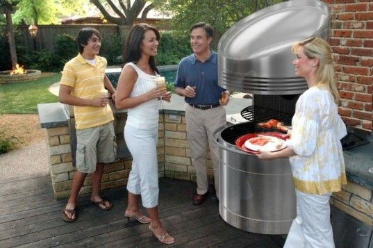 solar powered barbecue