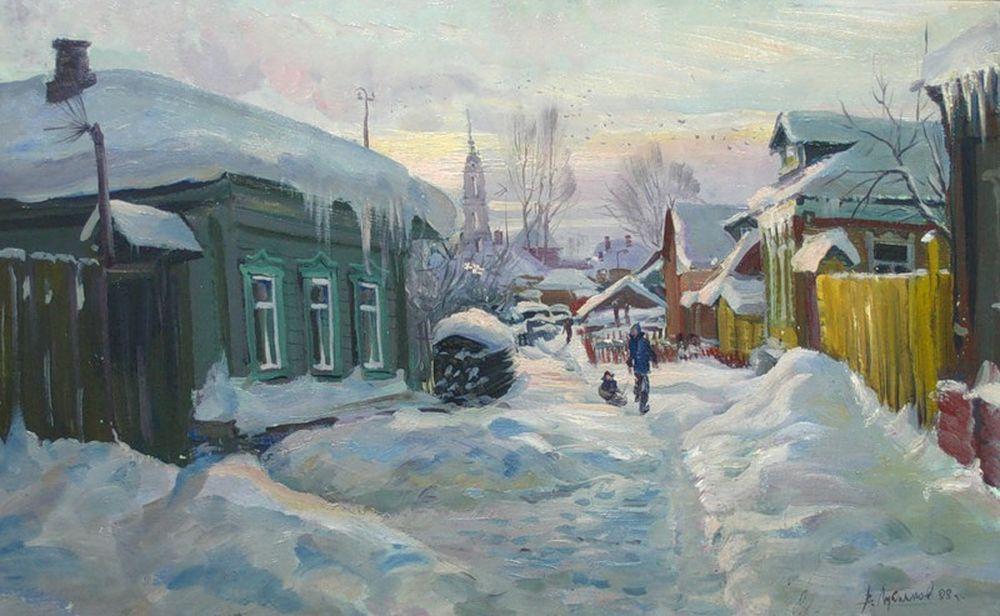 Лукьянов-Виктор.-Улочка-в-Коломенском-Кремле.jpg (1000×616)