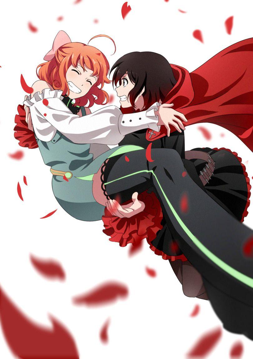 Anime,Аниме,RWBY,Ruby Rose,Penny,penny polendina