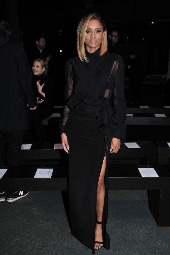 Les stars au premier rang du défilé Givenchy à Paris.    http://femina.ch/people-givenchy