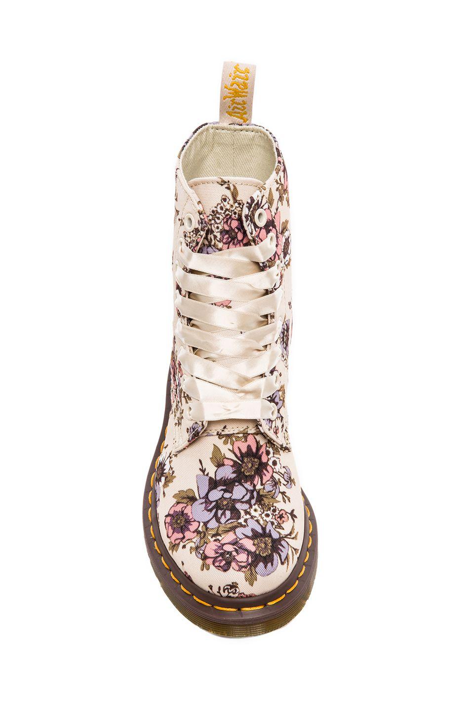 75b1668548d1 Floral Dr Martens - Borcegos con flores - Shoes     shoelove in 2019 ...