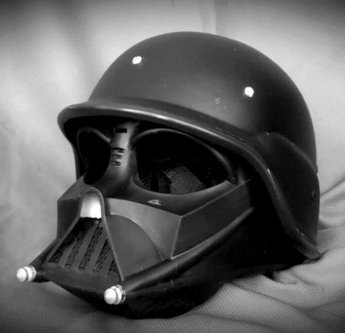16 coolest motorcycle helmets of 2015 darth vader. Black Bedroom Furniture Sets. Home Design Ideas
