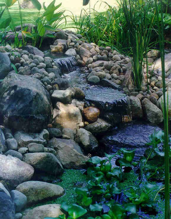 A Very Nice Waterfall For My Pond