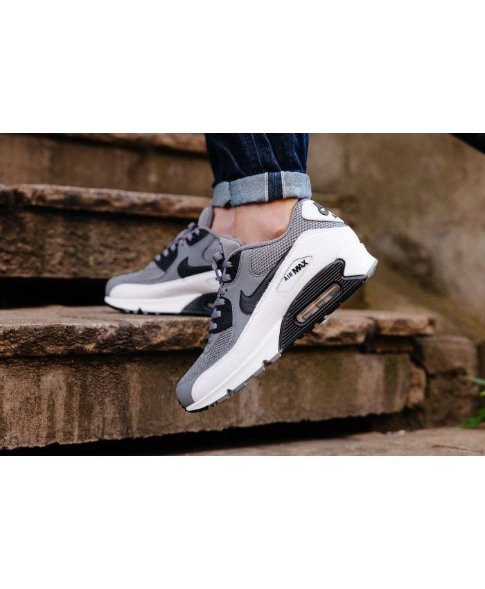 Nike Air Max 90 Essential Cool Gris Noir Blanche | Air Max