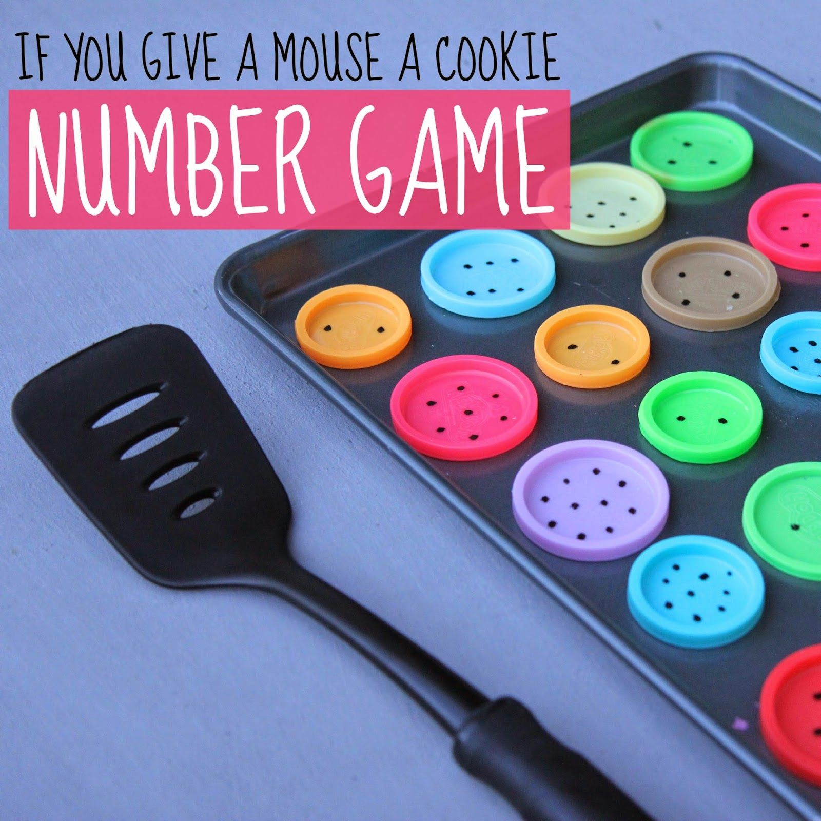 If You Give A Mouse A Cookie Number Game for Preschoolers