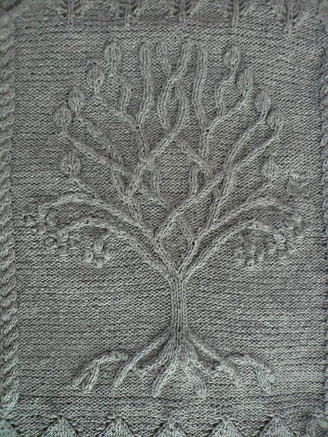 Tree pattern by Ariel Barton | Knitting | Pinterest | Schöner