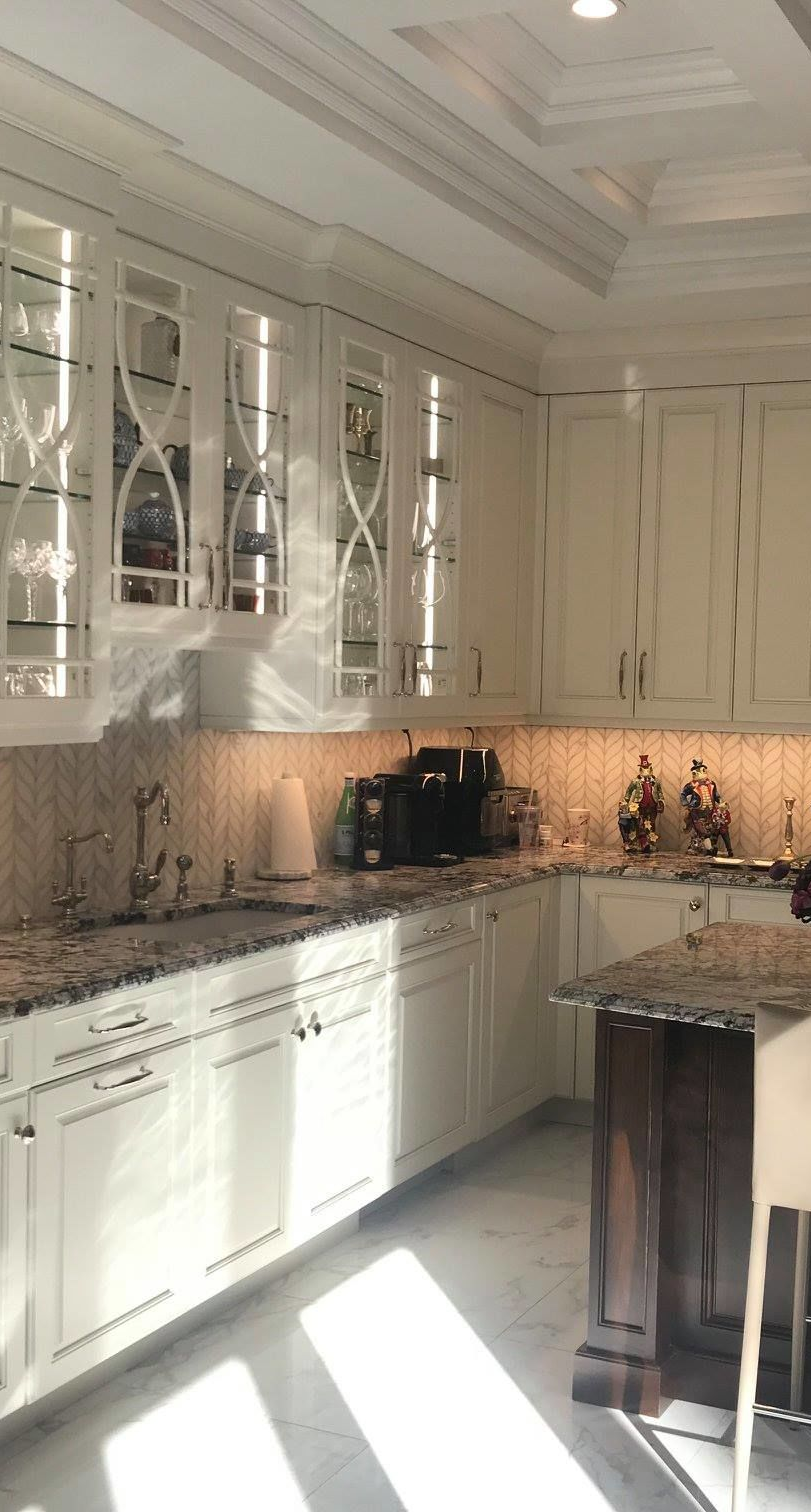 Rutt Handcrafted Cabinetry Was The Center Of This Stunning Kitchen