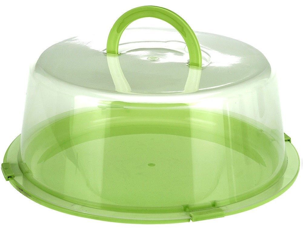 Cake Carrier Large Lockable Plastic Cake Storage Container Cake Dome