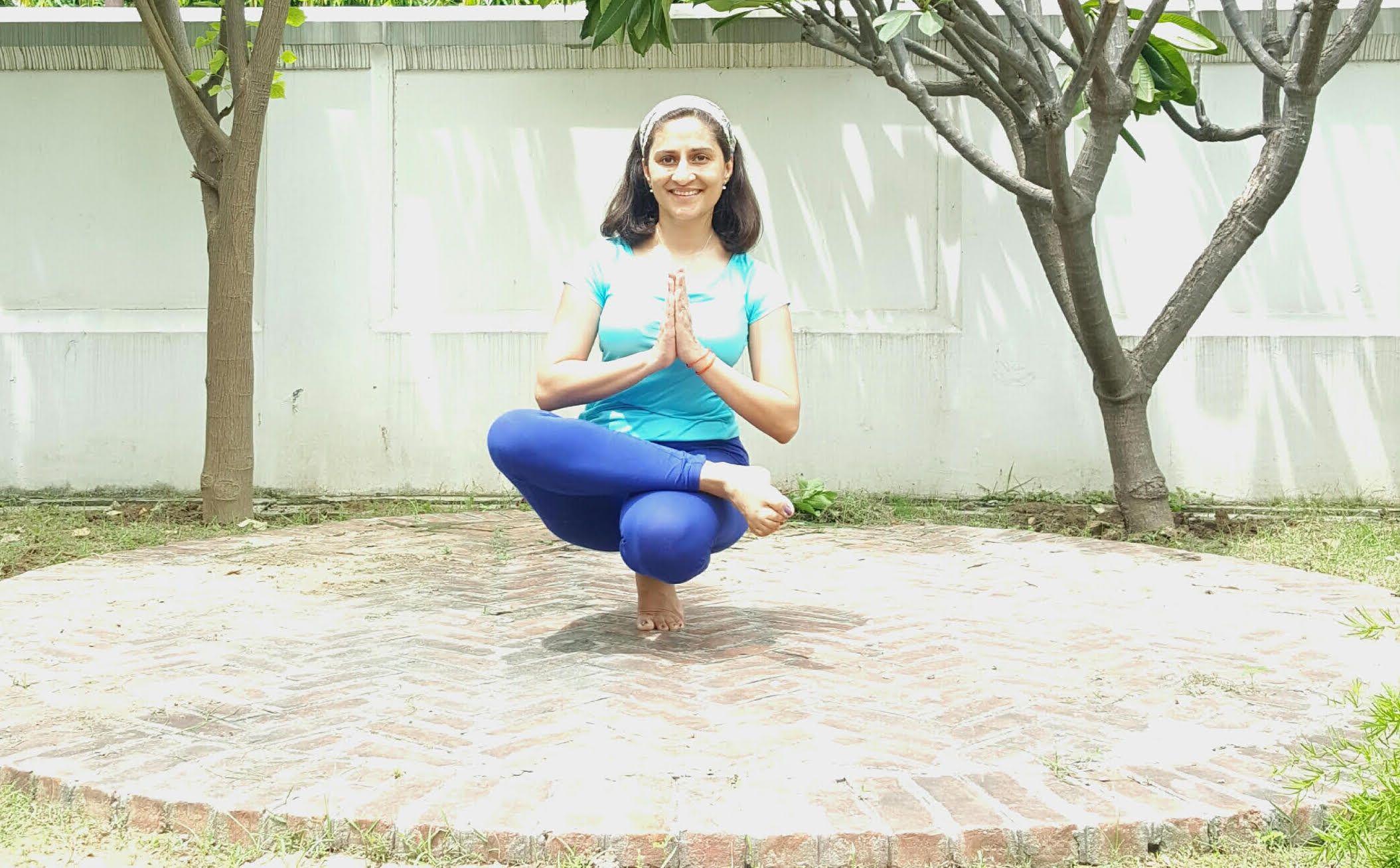 Tiptoe Pose Padangusthasana Poses Squats Yoga