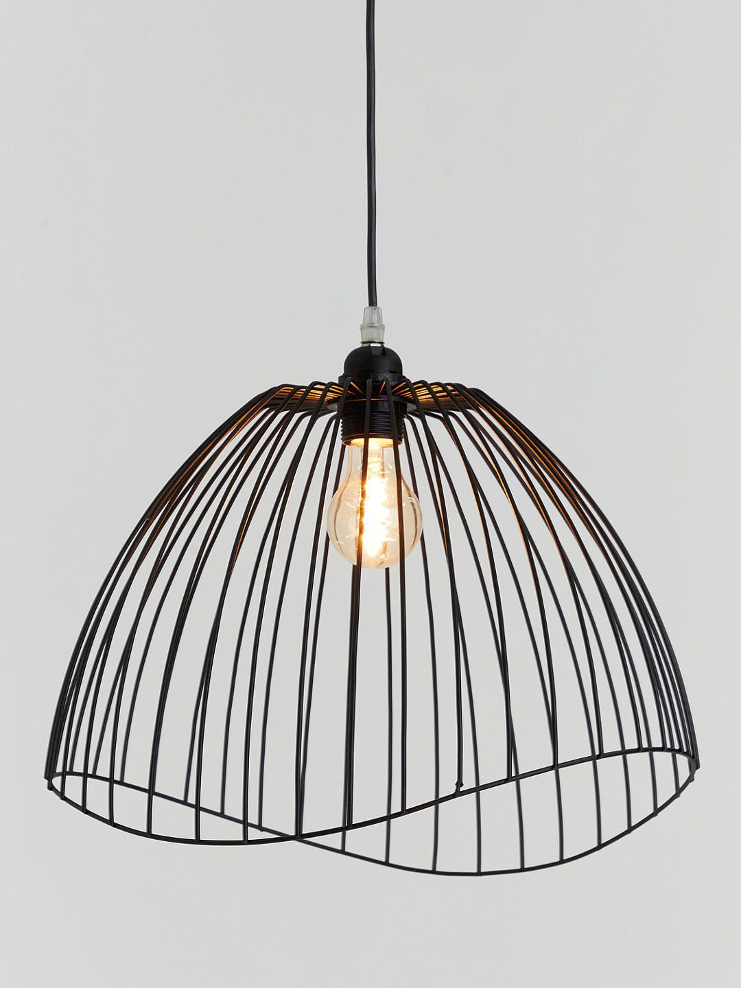 John Lewis Partners Hiko Easy To Fit Ceiling Shade Black Ceiling Shades Bedroom Ceiling Light Black Light Shades