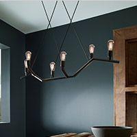 Dining Room Lighting Linear Suspension
