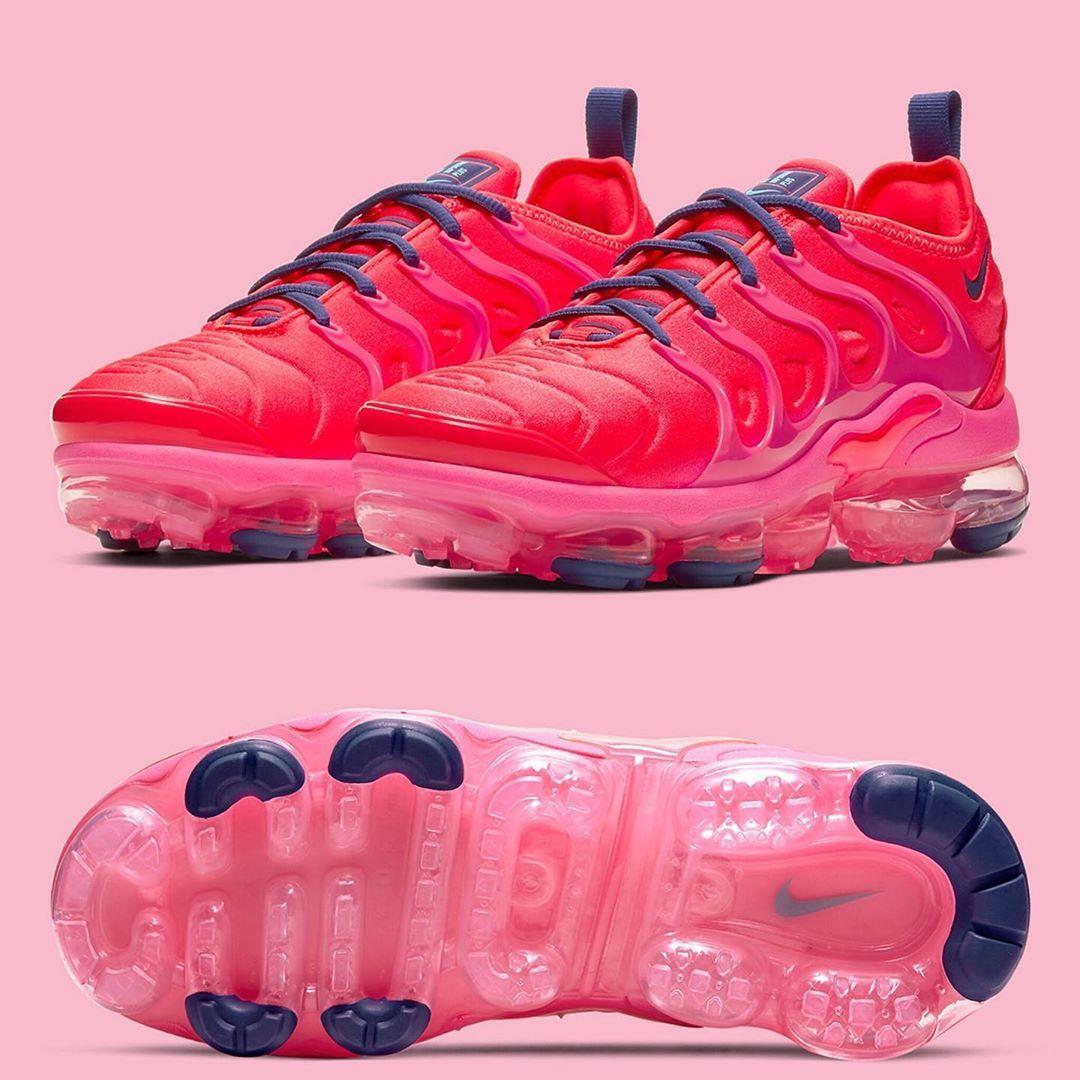 """Nike Vapormax Plus """"Vibrant Neon Red"""