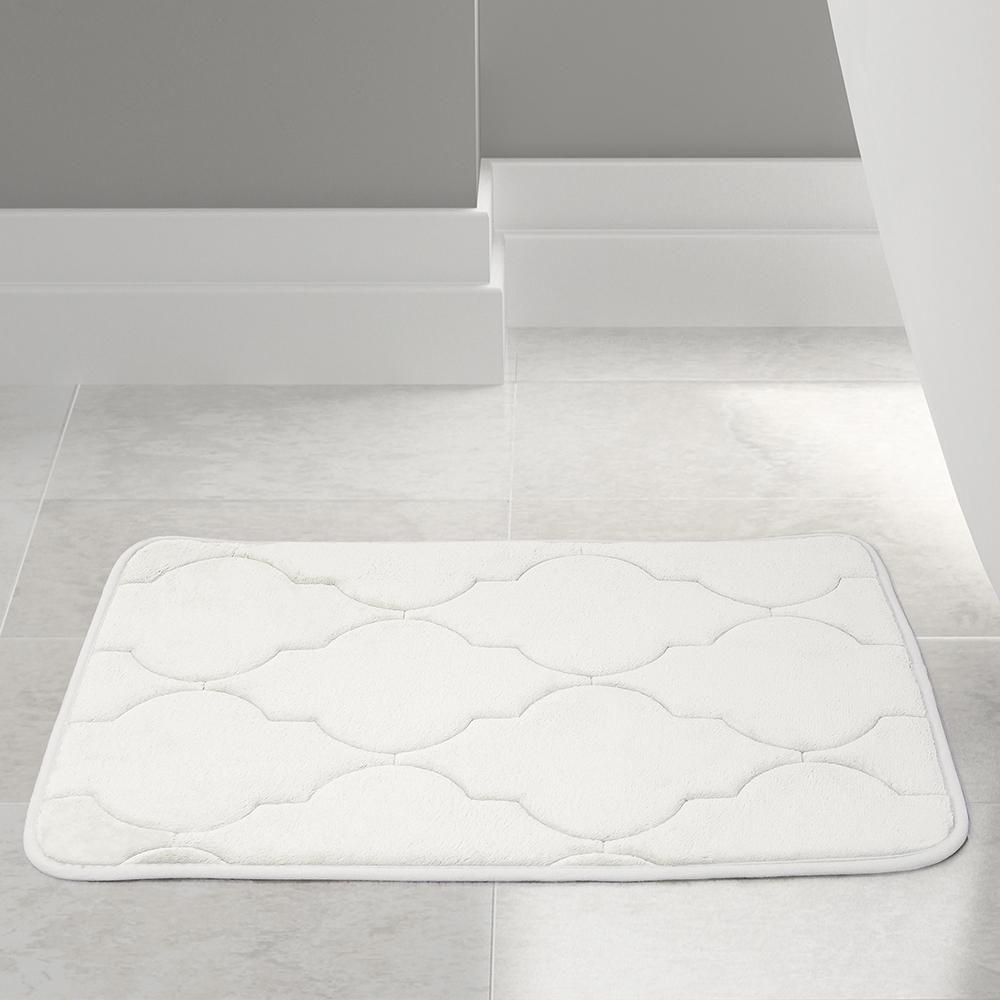 embossed memory foam lattice bath mat bath mat memory foam and emboss