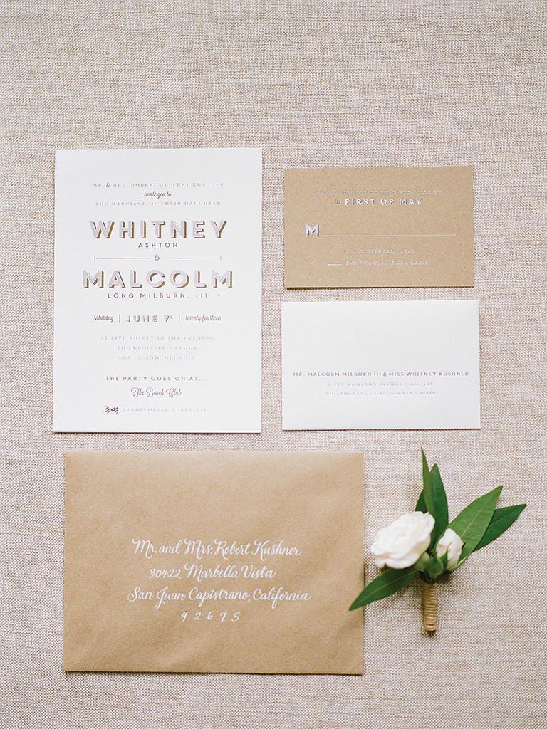 15 Rustic Wedding Invitation Ideas | Invitation ideas and Weddings