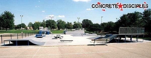 Oneil Park Skatepark Bloomington Il Skate Park Bloomington Illinois Park