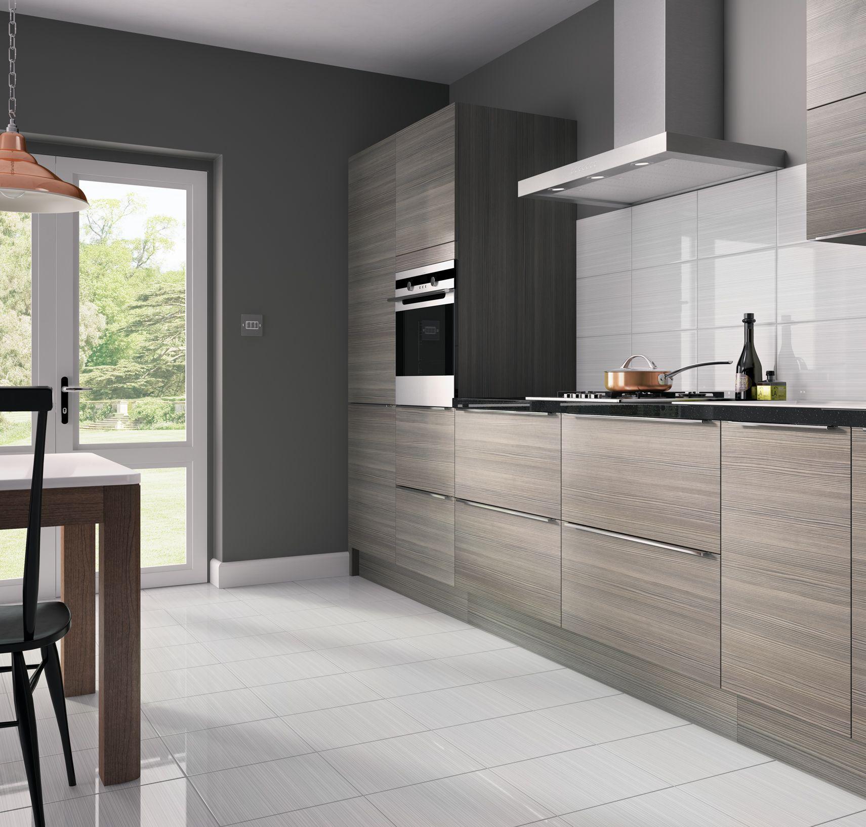 Blairlock White Kitchen Floor And Wall Tile Ceramic Floor Tile
