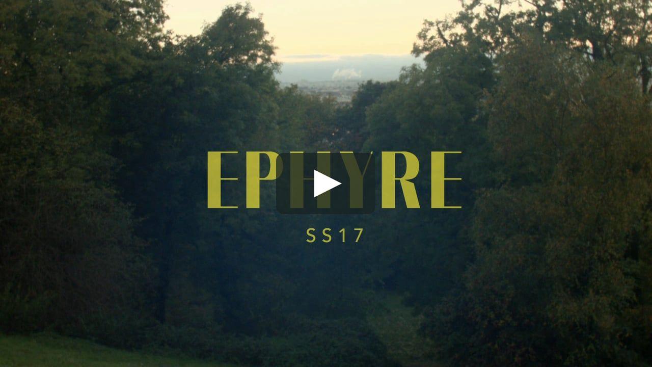 Voici SS17 COLLECTION - EPHYRE PARIS par Ephyre Paris sur Vimeo, le site d'hébergement des vidéos de haute qualité et de ceux qui les aiment.