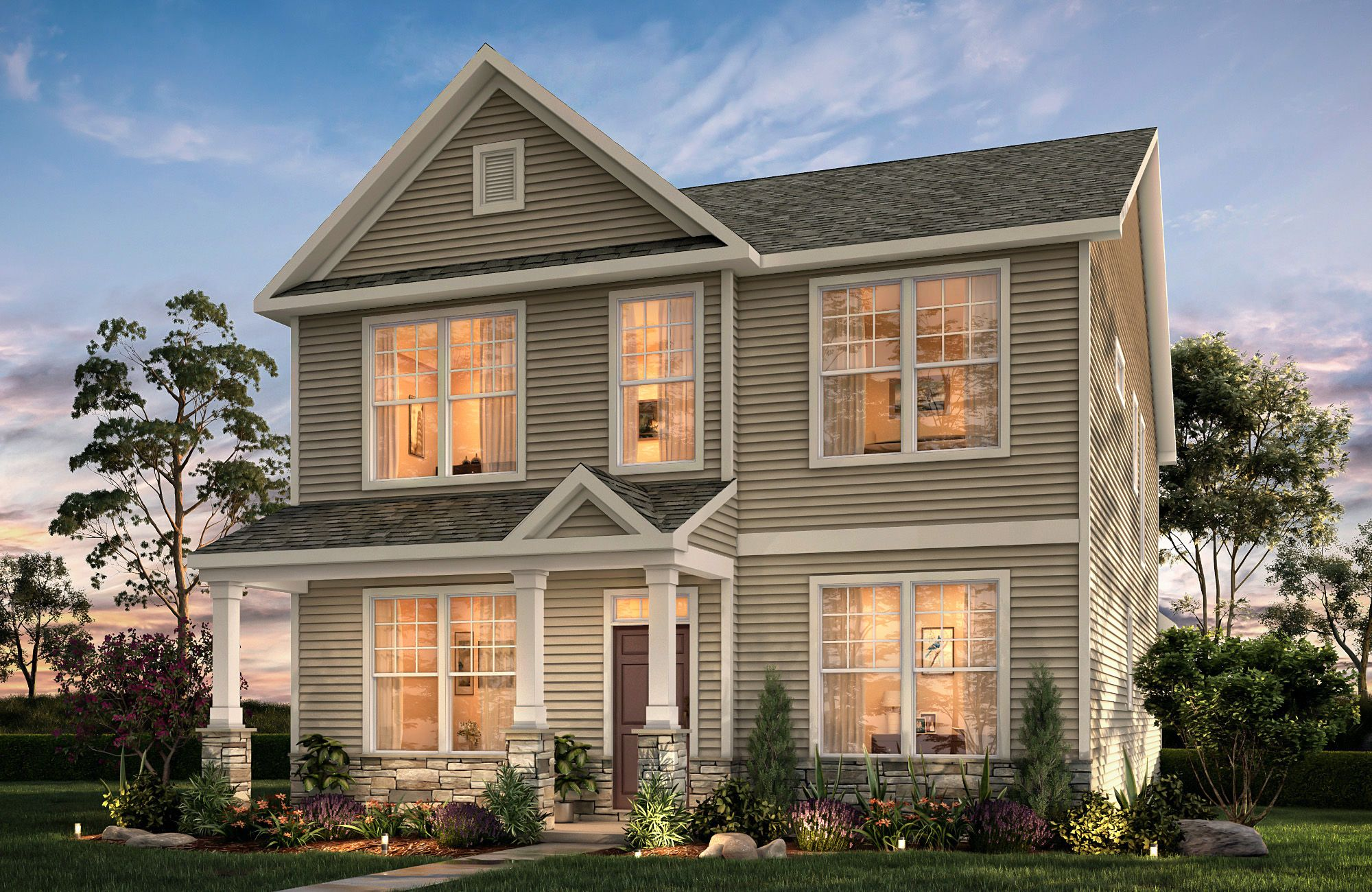 Addison Ii Tup A2p True Homes New Home Communities New Home Builders