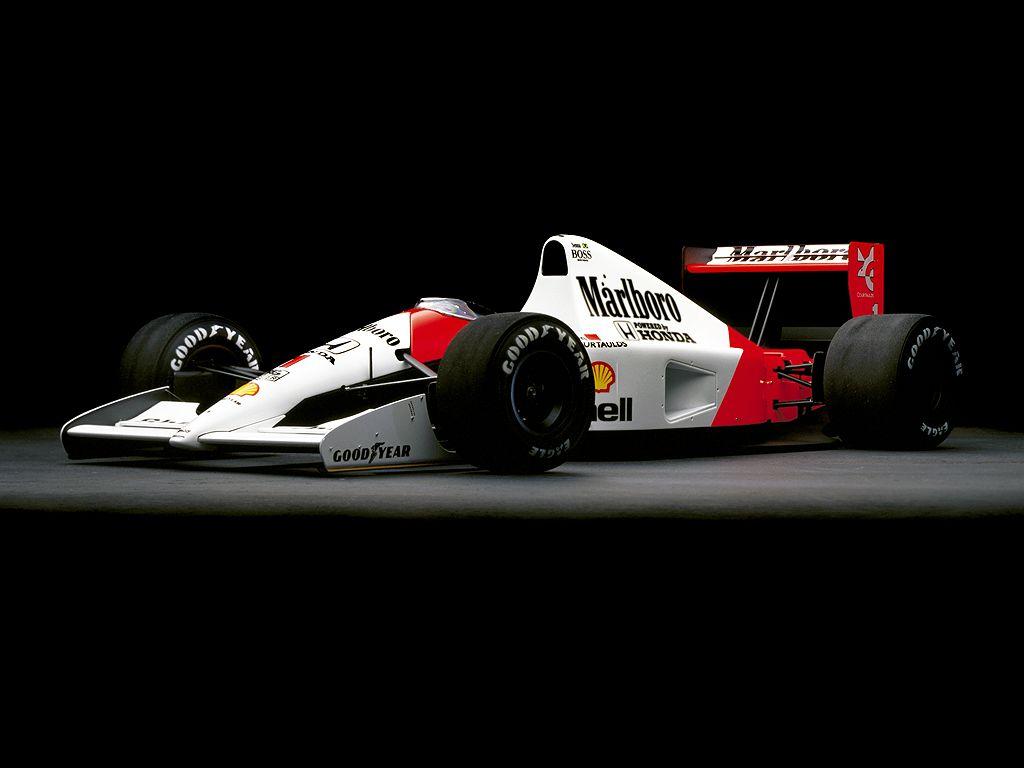 1991 Mclaren Honda Type Mp4 6 Coches De Carreras Coches Increibles