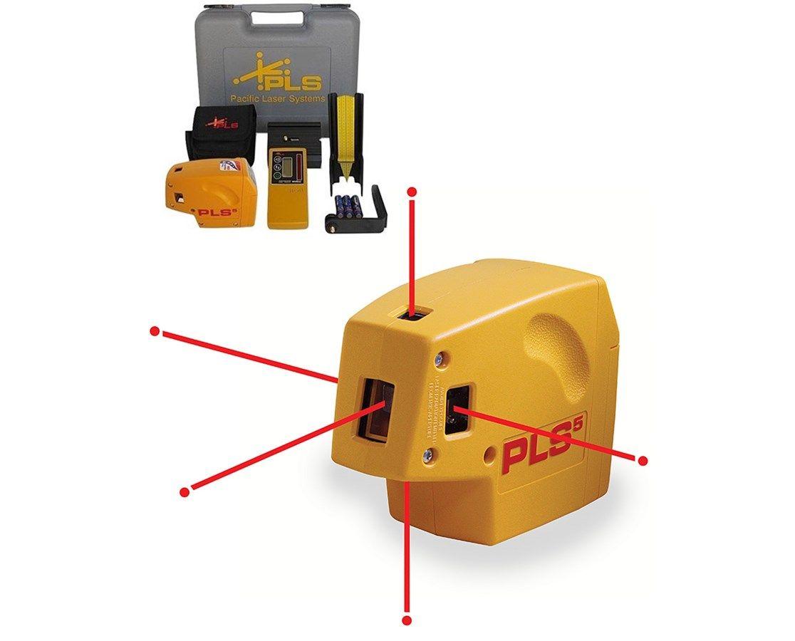 Pacific Laser Systems Pls5 Point Laser Level 4793401 Laser Levels Laser System
