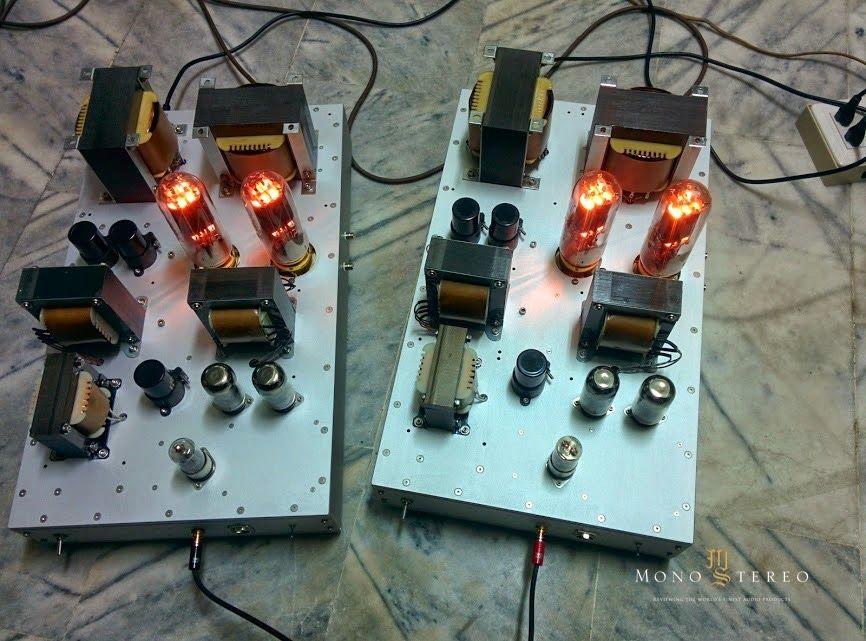 Mono e Stereo High-End Áudio Magazine: Sam projeto de poder puxar amplificador de 805 impulso