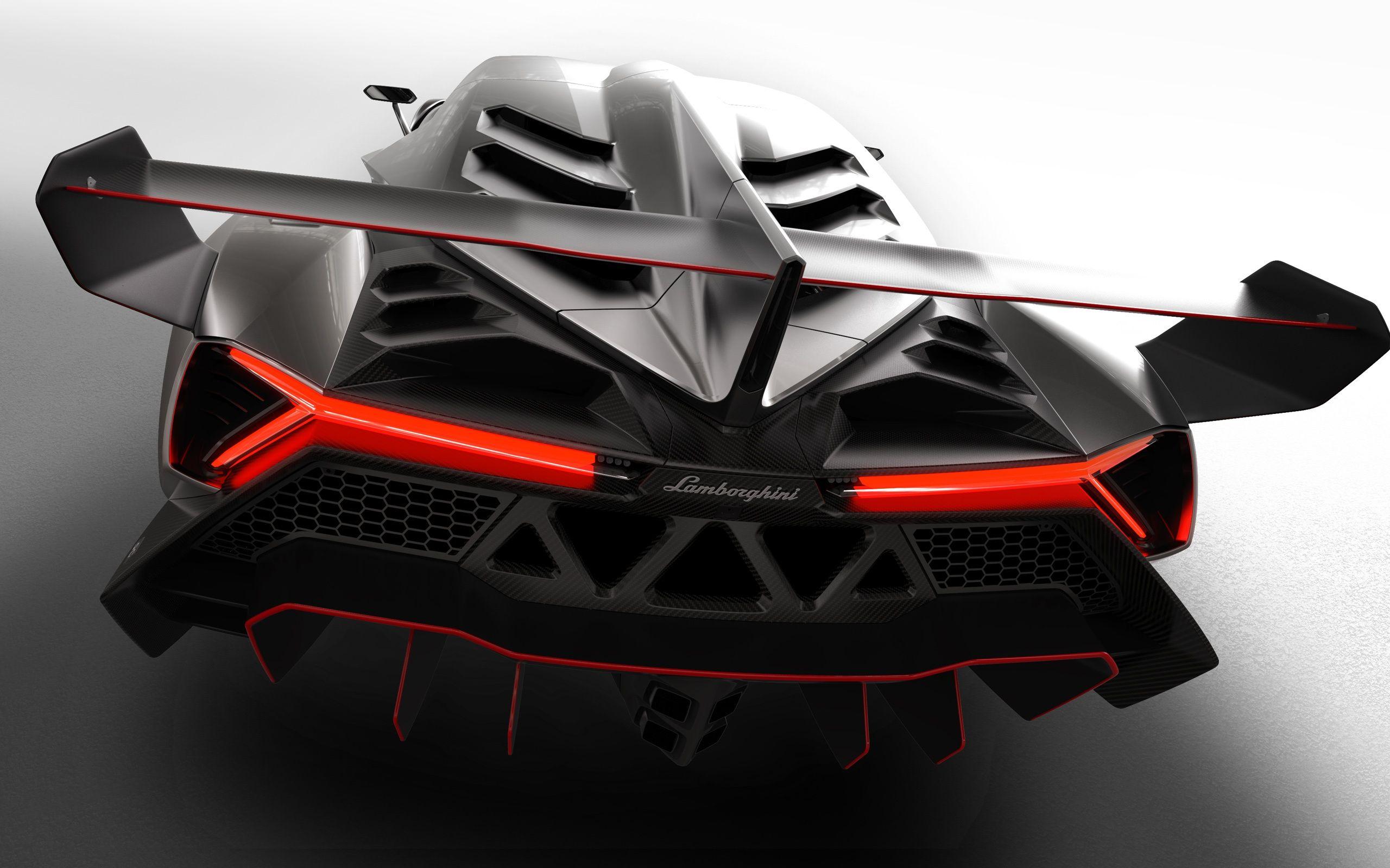 2013 Lamborghini Veneno Traseira Close Up Papeis De Parede