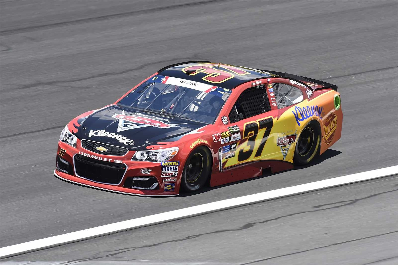 Coca Cola 600 May 28 2017 Servicemember So1 Jason Lewis Chris Buescher Will Start 29th In The No 37 Jtg Daugherty Racing Chevrolet