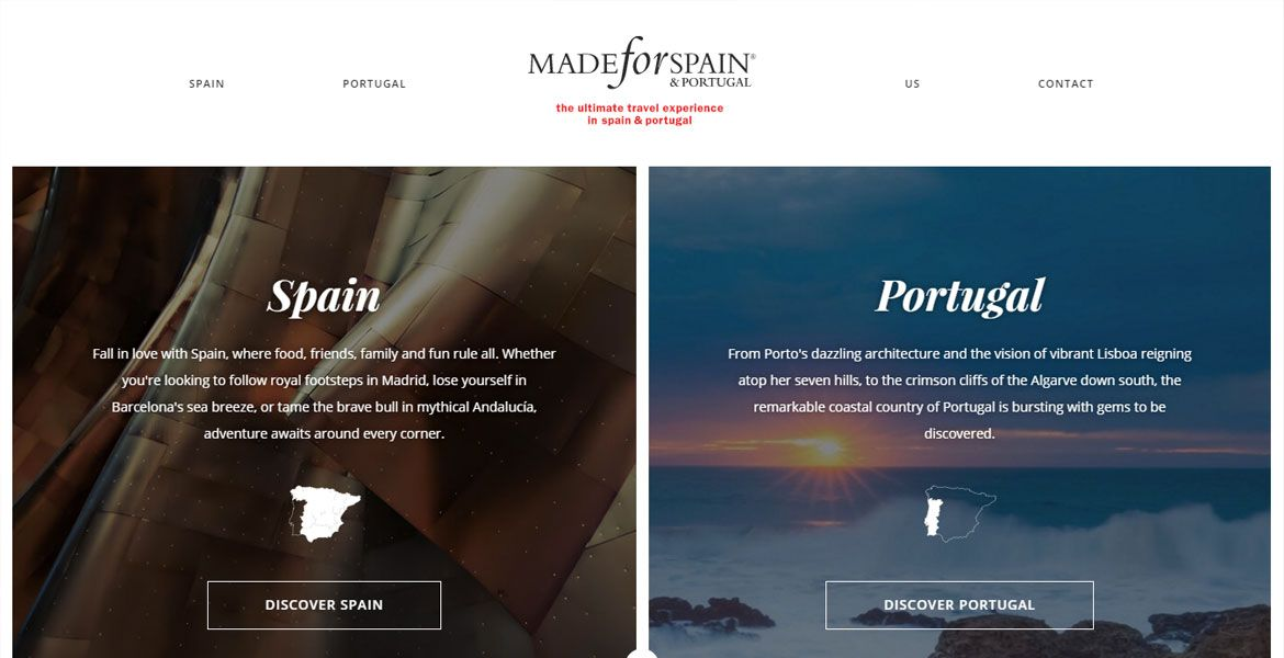 Pin By Css Nectar On Css Web Gallery Cssnectar Com Spain And Portugal Spain Showcase Design