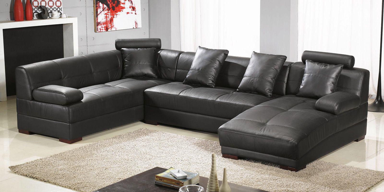 xxl sofa u form, wohnlandschaft ledersofa baretta xxl u-form ledersofa | designer, Design ideen