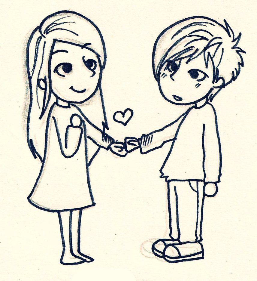 Cute easy drawings of love tumblr idees pinterest for Simple drawings for love
