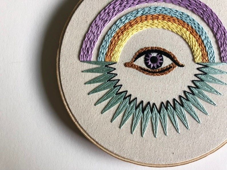 26 Embroidery Patterns That Might Make Passing The Time A Stitch Easier