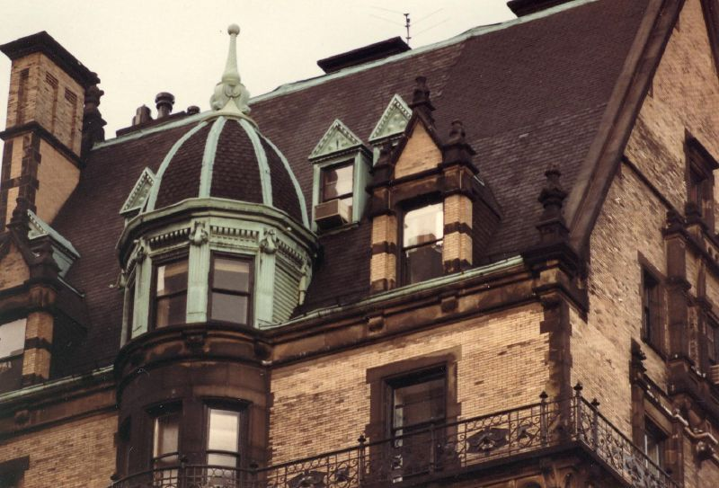 Roof Detail Of The Dakota Apartment Building Nyc With Images